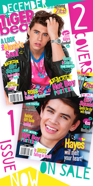 Find December Tiger Beat everywhere magazines are sold
