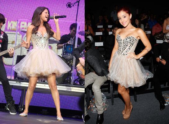 Who Wore It Best: Selena vs. Ariana!