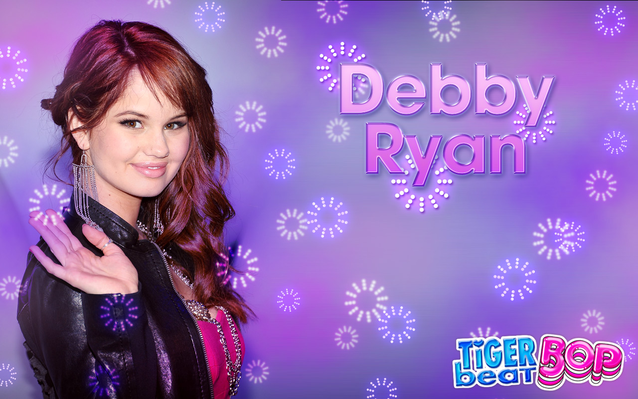 Countdown to the holidays with debby ryan tigerbeat - Ryan name wallpaper ...