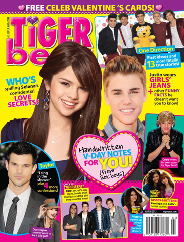 Browse March 2012 Tiger Beat