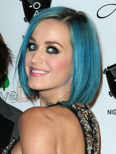 POLL: What Do You Think of Katy's Blue Hair?