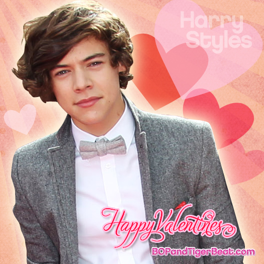 Send a Harry Styles Valentine's Day eCard!