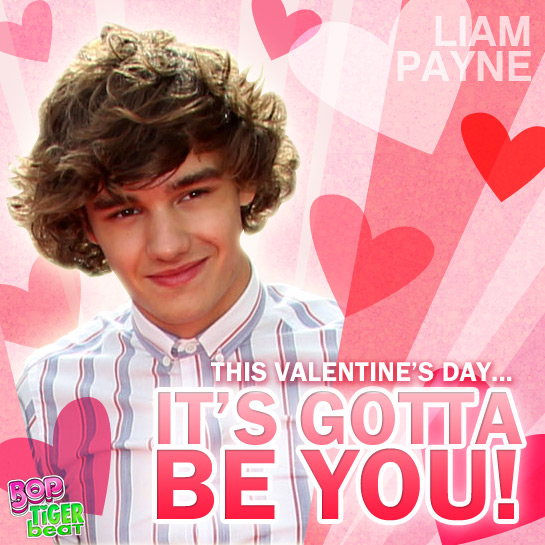 Send a Liam Payne Valentine Card!