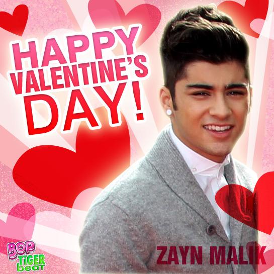 Send a Zayn Malik Valentine Card – Zayn Malik Birthday Card