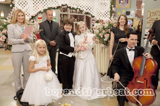EXCLUSIVE: Pics of Sierra McCormick&#8217;s Wedding Scene on <em>A.N.T. Farm</em>!