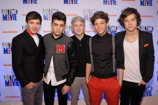 One Direction Join the Nickelodeon Family!