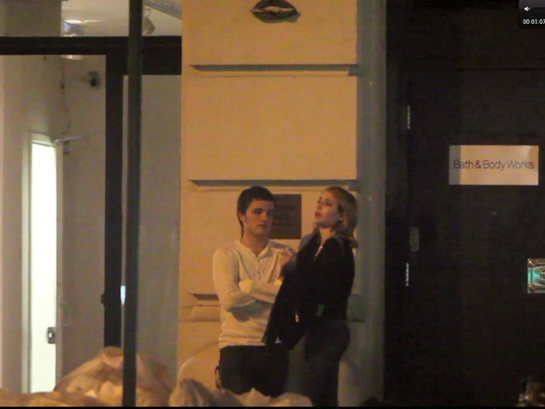 Romance Rumor: Are Sparks Flying Between Josh Hutcherson and Emma Roberts?