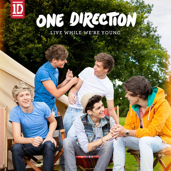 """""""Live While We're Young"""" Single Art Revealed!"""