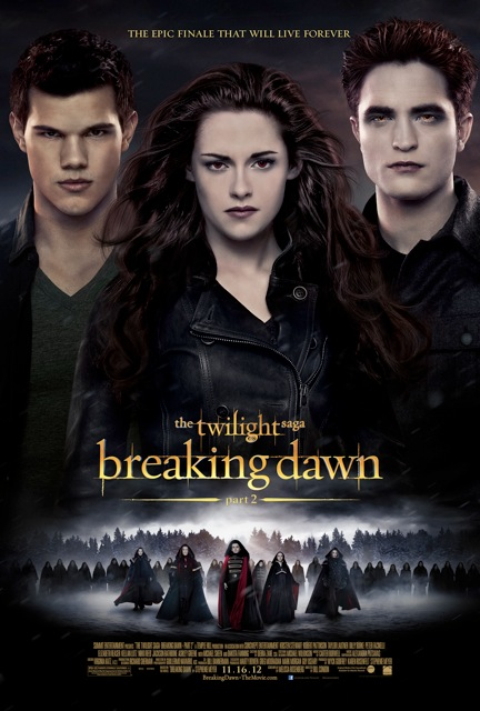 New Movie Poster for <em>The Twilight Saga: Breaking Dawn &#8211; Part 2</em>!