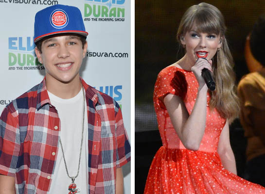 Austin Mahone Joins Taylor Swift on Tour!