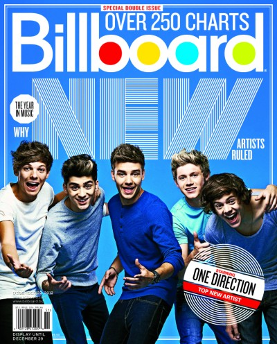 1D is <em>Billboard&#8217;s</em> Top New Artist of 2012!