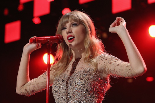 Taylor Named Most Charitable Celeb of 2012!