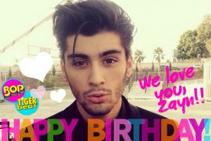 Sign our Birthday Card to Zayn!