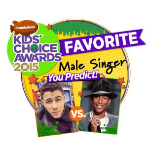 KCAs 2015 Male-Singer