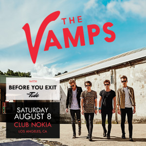 Meet the Vamps Saturday August 8 and See Them Perform Live!