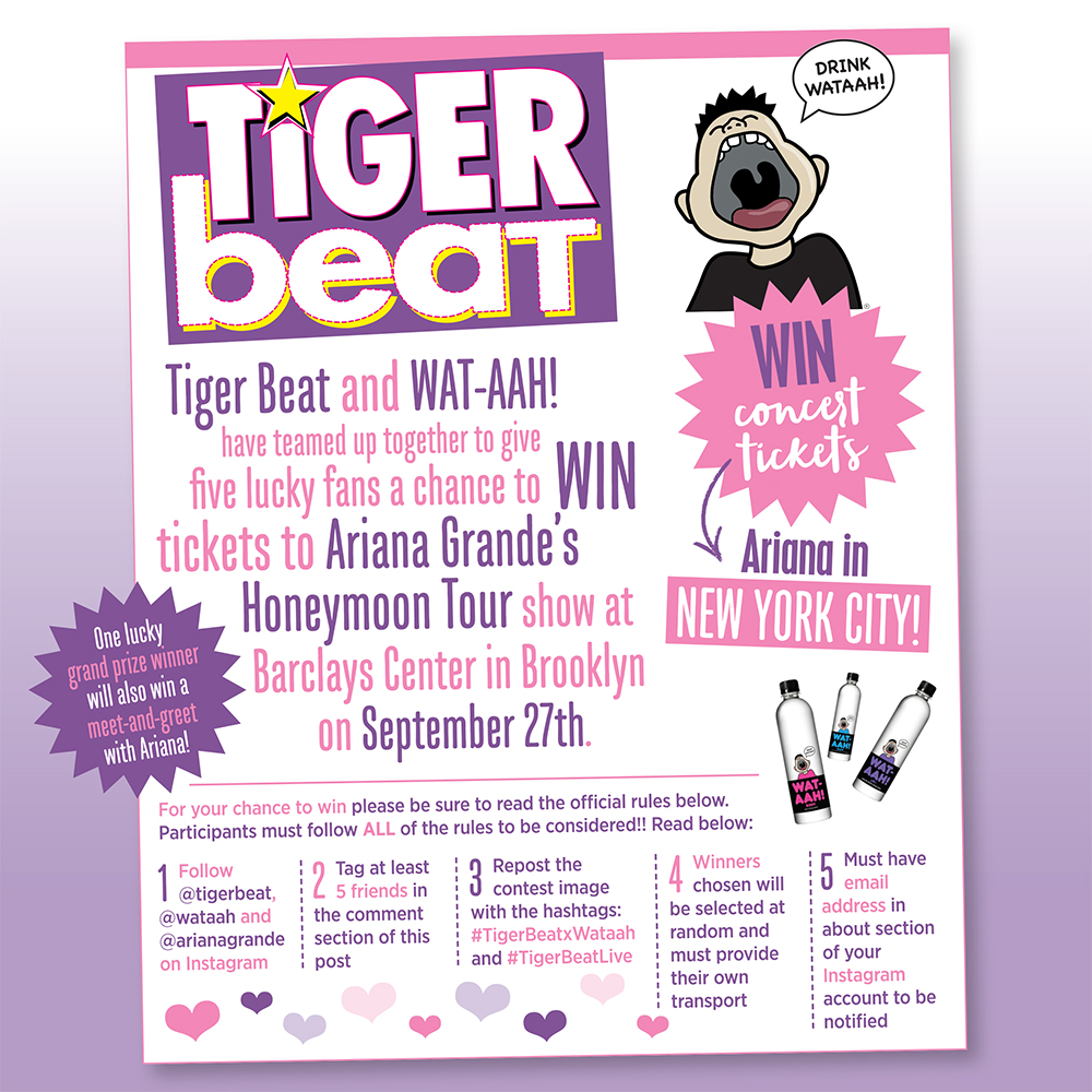 In The Nyc Area Ariana Is Too Tigerbeat