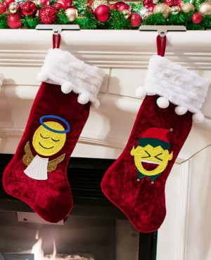 Tulip DIY Project: Emoji Stockings