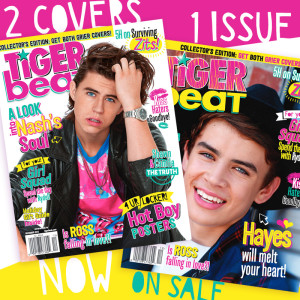 The December Tiger Beat issue: Nash and Hayes Grier!