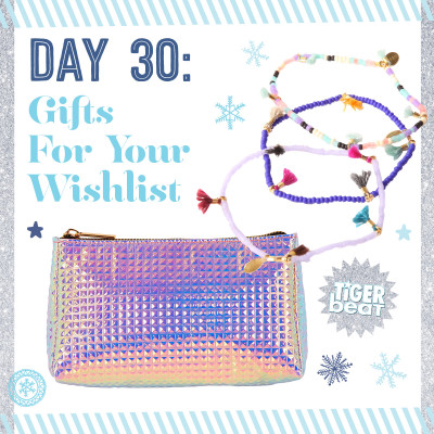 30 Days of Gifts - Tiger Beat Gift Guide Win