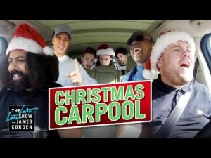 James Corden's Star-Studded Holiday Carpool Karaoke Equals Major Holiday Spirit