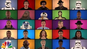 Jimmy Fallon's A Capella Tribute to 'Star Wars: The Force Awakens'