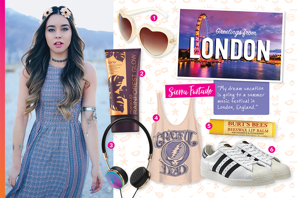 Sierra Furtado Shares Her Dream Vacation Essentials