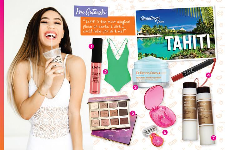 Eva Gutowski Shares her Dream Vacation Essentials