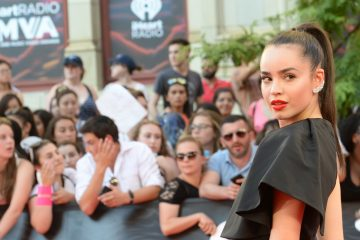 Sofia Carson Gets Shady in Vancouver