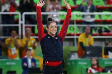 Aly Raisman Agrees To Go On a Date With an NFL Player!