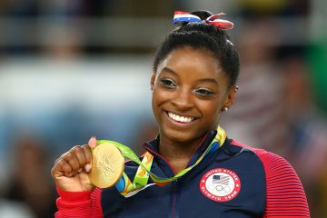 Gymnast Simone Biles Makes History with 5th US National All-Around Title