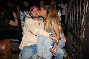 Ariana Grande and Mac Miller Are Snapchat Official!