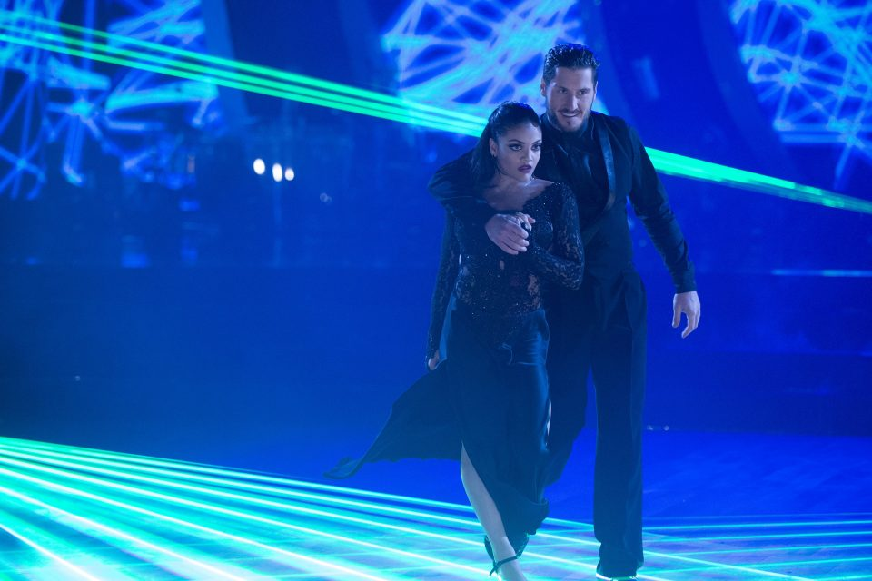 Laurie Hernandez Tangoes to the Top On 'Dancing with the Stars!'