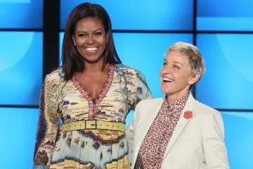 Ellen DeGeneres Takes First Lady Michelle Obama Shopping at CVS