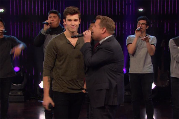 Shawn Mendes Challenges James Corden to a Riff-Off