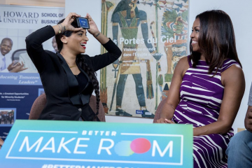 Superwoman Gets Schooled by Michelle Obama in 'Heads Up'