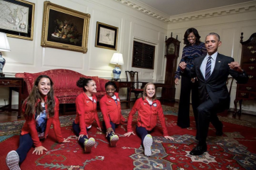 The #FinalFive Takes Over the White House!