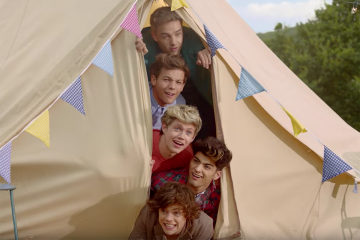 Quiz: Do You Remember the 'Live While We're Young' Video?