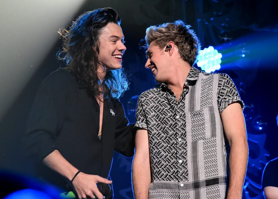 Niall Horan Supports Harry Styles At His LA Concert