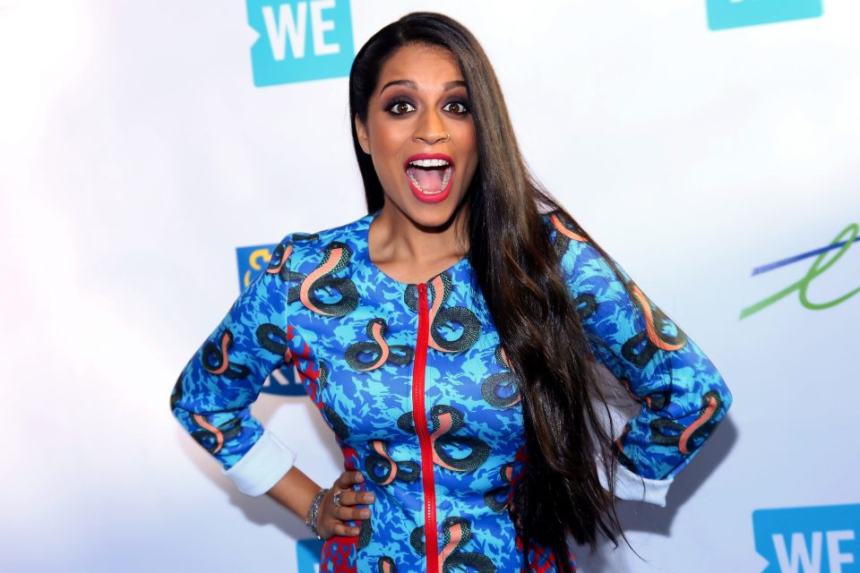 Lilly Singh Just Made the World's Most Powerful Red Carpet Entrance