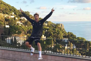 Cameron Dallas Took His Mom To Italy