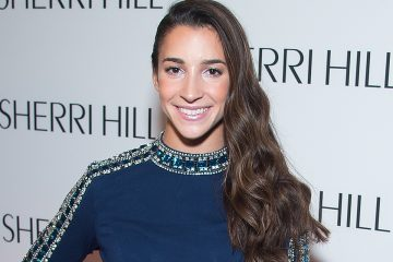 Aly Raisman's Red Carpet Look Gives Us Life