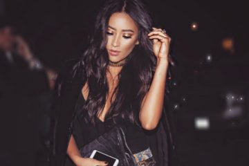 Shay Mitchell Rocks a Fur Coat, Is The Queen of Everything