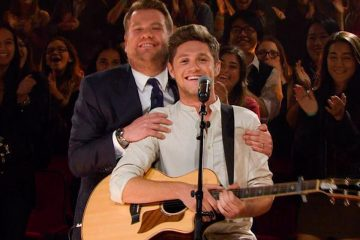Niall Horan and James Corden Are the Silliest Trick-or-Treaters