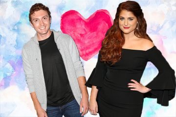 Meghan Trainor And Daryl Sabara Pack On The PDA