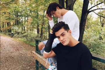 Ethan and Grayson Dolan Cozy Up For Fall