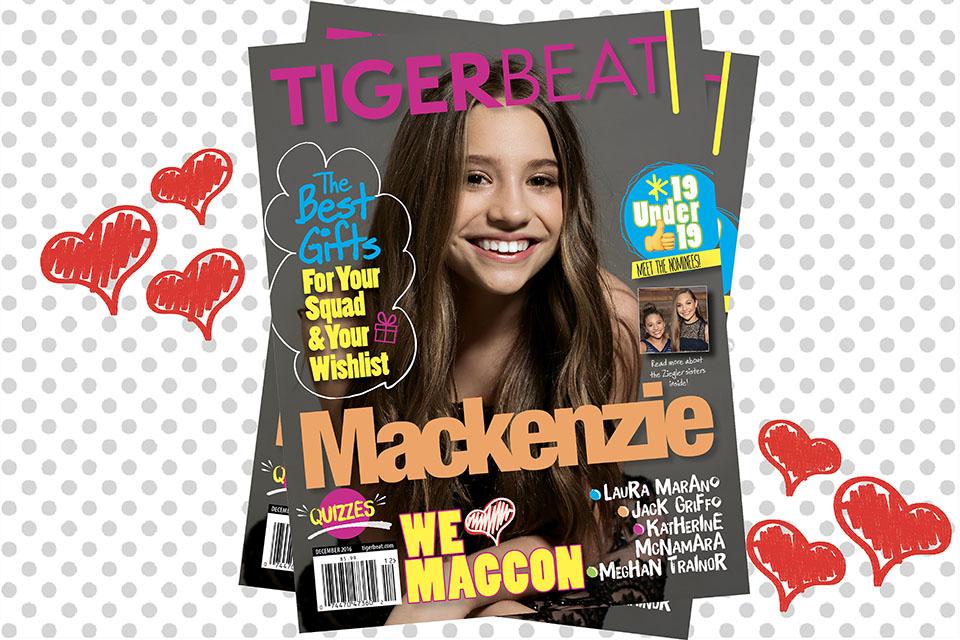 Mackenzie Ziegler's Plans for 2017