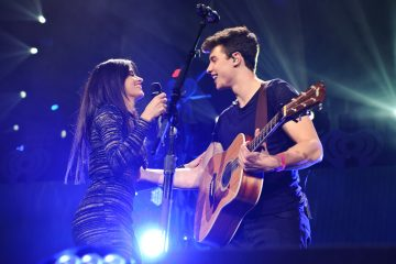 Shawn Mendes and Camila Cabello Sing Ed Sheeran's 'Kiss Me'