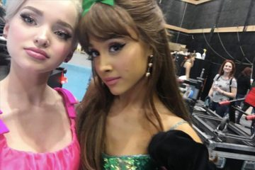 Dove Cameron and Ariana Grande Are Ready for 'Hairspray Live!'
