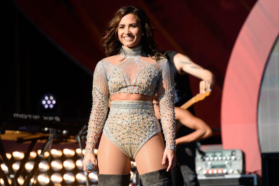 Demi Lovato Took Selfies With Elephants in Kenya