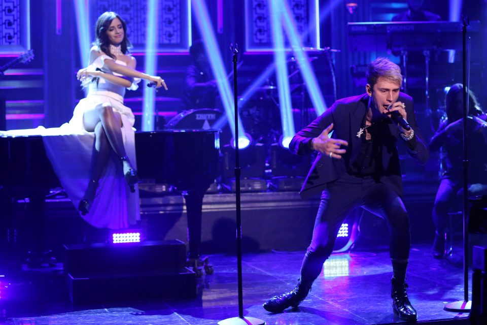 Camila Cabello and Machine Gun Kelly Perform 'Bad Things' — With a Twist!